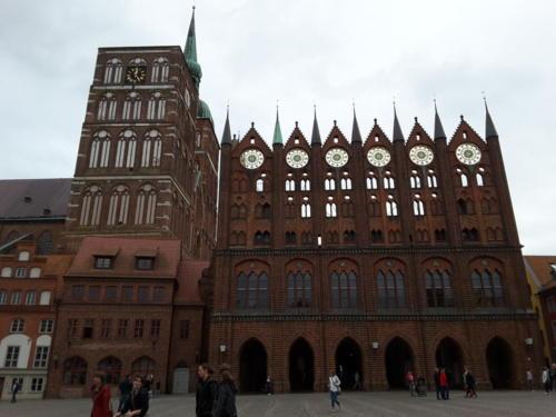 Plaza Central - Ciudad Hanseatica de Stralsund