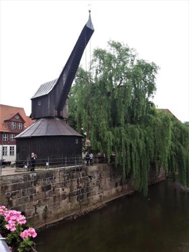 Ciudad Hanseatica de Luneburgo - Grua Antigua
