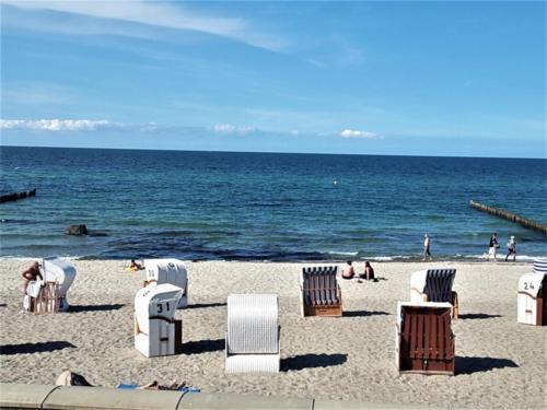 Praia no Mar Baltico
