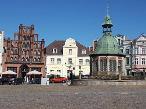 Praça do Mercado - Cidade Hanseática de Wismar