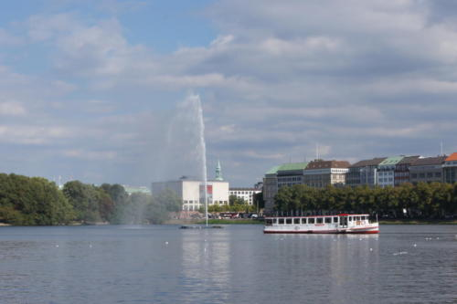 Lago Interno Alster - Amburgo
