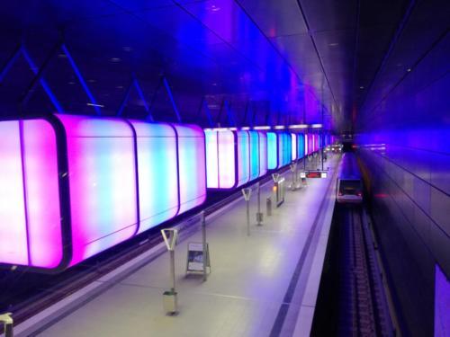 Estación Metro Hamburgo