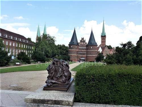 Lübeck Wasserzeichen Holstentor -