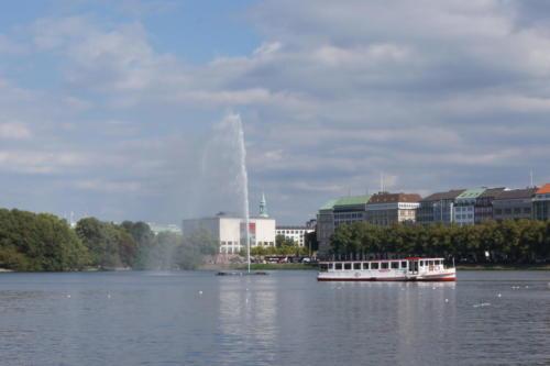 Lago Interno Alster -  Hamburgo