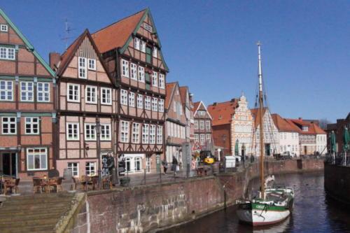 Antigo porto - Cidade Hanseática de Stade