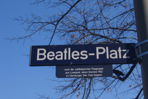 Plaza Beatles - Hamburgo