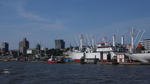 Passeo en el Puerto Hamburgo